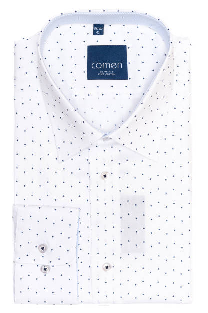 Biała koszula 100% bawełna | Odzież męska | Sklep online  aHRXY