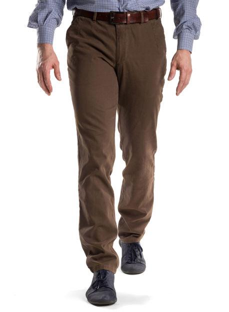627d132ec1f7a Brązowe spodnie bawełniane - odzież męska - sklep online
