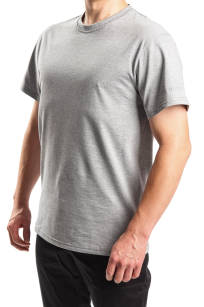 Szary t-shirt BASIC